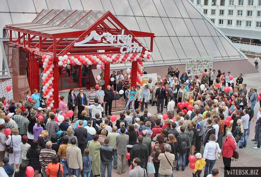 В Витебске открылась первая очередь ТДЦ «Марко-сити». Фото Антона Супрановича